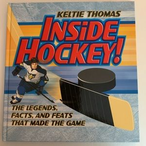 Inside Hockey The Legend Facts and Feats Book New